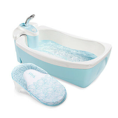 Summer Infant Lil Luxuries Blue Whirlpool Bubble Spa Shower
