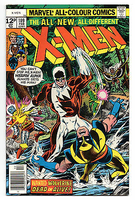 X-Men Vol 1 No 109 Feb 1978 (VFN) Marvel Comics, Bronze Age (1970 - 1979)