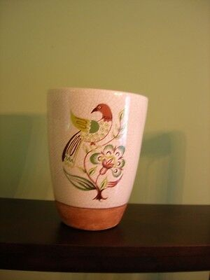 Barbara Willis 8 inch flower pot MINT and SIGNED ...