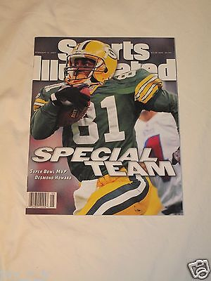 Desmond Howard Green Bay Packers Super Bowl Sports Illustrated