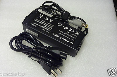 AC Adapter Battery Charger 20V 4.5A 90W For IBM Lenovo 40Y7659 41N5665 42T4428