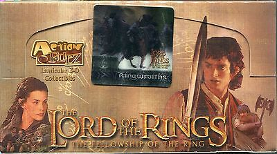 Lord Of The Rings FOTR Action Flipz Factory Sealed Trading Card Box