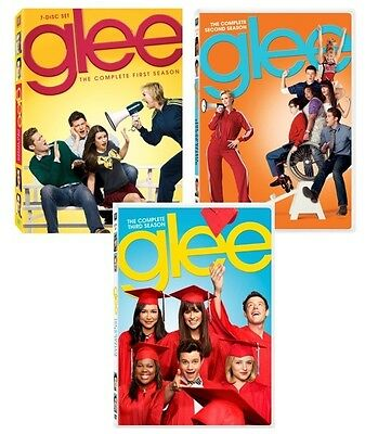 New! Glee DVD The Complete First 1st Second 2nd & Third 3rd Seasons 1 2 3 Season