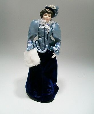 Avon Porcelain Doll Fashion of American Times Collection Victorian Lady 1987