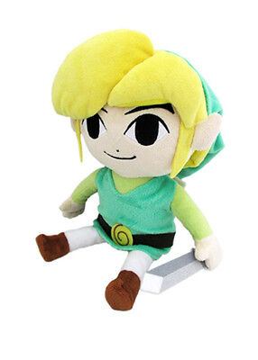 """Authentic Sanei The Legend of Zelda The Wind Waker - 7"""" HD Link Plush Doll"""