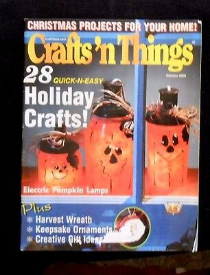 Crafts 'n Things Magazine - October 2000 - 28 Quick-n-Easy Holiday Crafts