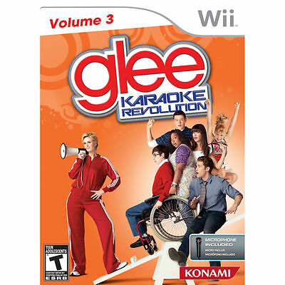 New Karaoke Revolution Glee: Volume 3 Game Only WII Video Game