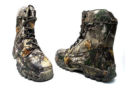 """Wolverine Men's King Caribou II 8"""" W08766 Boot Realtree Size 12 Used w/ Defect!"""