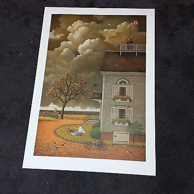 CHARLES WYSOCKI SIGNED NUMBERED PRINT Yearning For My Captain