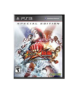New Street Fighter X Tekken: Special Edition PS3 Video Game