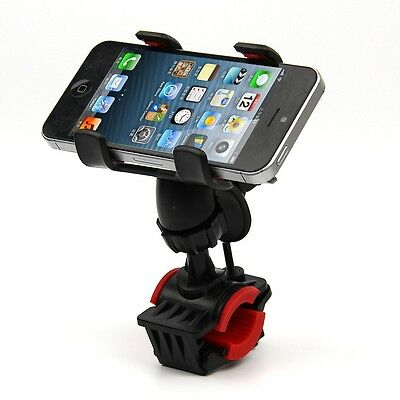 Motorcycle Bike Bicycle Handlebar Stand Mount Holder For iPhone 5S 5C 5/5G 6 4S