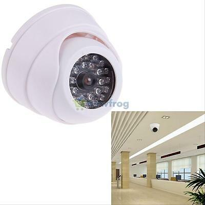 Surveillan HD Home Security 30 LED IR Color Night Video Dome Fake CCTV Camera