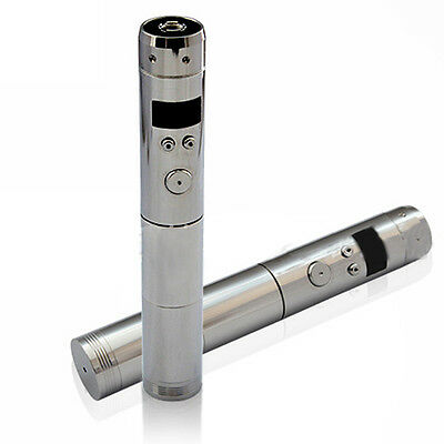 Silver Hot VAMO V5 Mod Stainless Steel APV Pen Electronic Mechanical OLED LCD