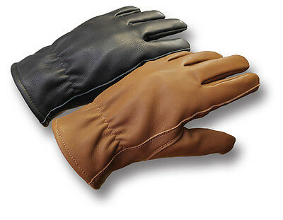 Silvermans Roper-Style Short Motorcycle Leather Gloves [72596]