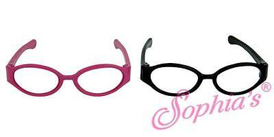 "Eyeglasses Hot Pink fits 18"" American Girl Dolls glasses reading fashion"