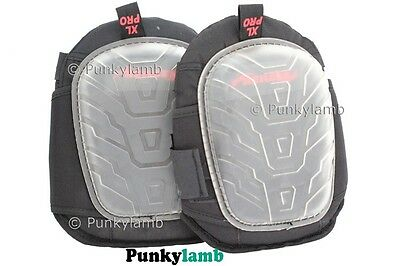 Heavy Duty Pro Soft Gel Filled Knee Pads Kneepads Protectors Safety Work Wear