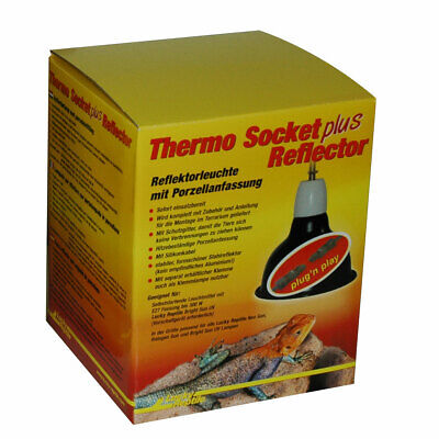 Lucky Reptile - Thermo Socket plus Reflector mit Steckverbinder - klein - PNP