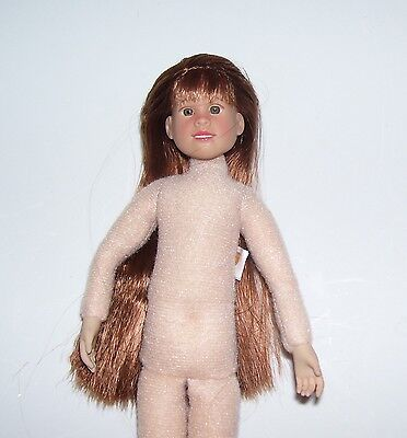 """Only Hearts Club OLIVIA HOPE 9"""" POSABLE DOLL NUDE Cloth and vinyl FOR OOAK #2"""