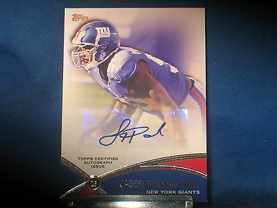 Jason Pierre Paul 2012 Topps Prolific Playmakers Autograph New York Giants #JPP