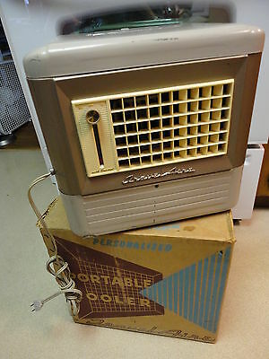 TravelAire VINTAGE EVAPORATIVE COOLER Fan, Box Early Air Conditioner