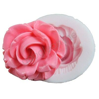 Rose Silicone Mold For Fondant Cake Chocolate Decorating Candy Clay Crafts SS