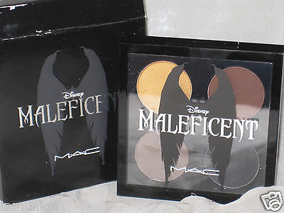 MAC LED DISNEY MALEFICENT 4 COLOR EYE SHADOW PALETTE, DISCONTINUED