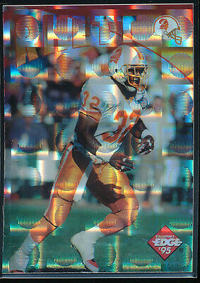 FIFTY 1995 ERRICT RHETT COLLECTOR'S EDGE INSTANT REPLAY PRISMS NFL FOOTBALL CARD