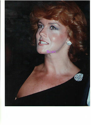 ANN MARGRET AT MARCH OF DIMES HONORING GEORGE BURNS 1977 ORIGINAL PRESS PHOTO 2