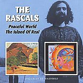 Peaceful World/Island of Real by The Rascals (CD, May-2009, 2 Discs, Beat...
