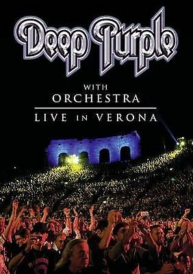 Deep Purple with Orchestra: Live in Verona (DVD, 2014)