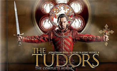 The Tudors: The Complete Series (DVD, 2010, 15-Disc Set)