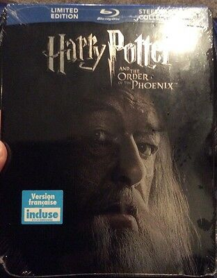 Harry Potter and the Order Of The Phoenix Futureshop Exclusive Blu-ray Steelbook