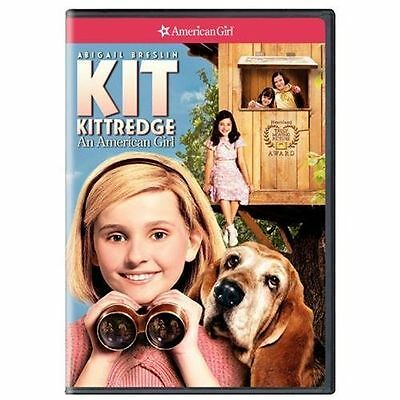 Kit Kittredge: An American Girl, Good DVD, Abigail Breslin, Stanley Tucci, Joan