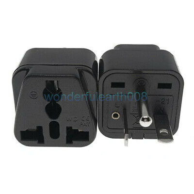 Universal World to North American NEMA 6-20P US Electrical Plug Adapter
