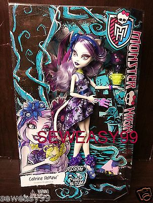 Monster High Gloom and Bloom Catrine Demew Daughter of a werecat
