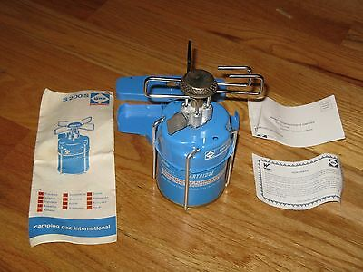 Camping Gaz International Vintage Backpack Stove S200S NEW w/Manual