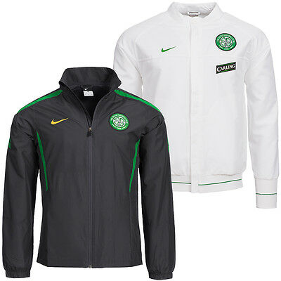 Celtic Glasgow FC Nike Präsentations Herren Trainingsjacke S M L XL 2XL neu