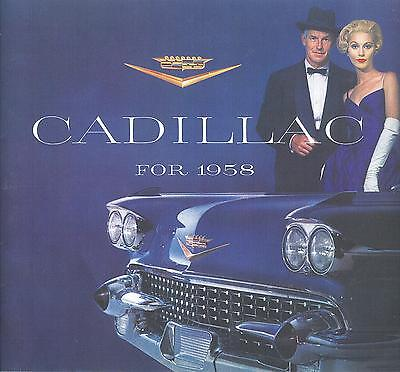 1958 Cadillac Sales Brochure-28 Pages