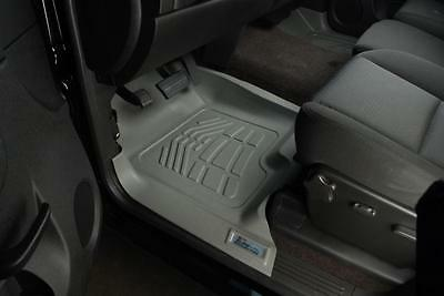Ford Super Duty 2012 - 2014 WITH FOOT PAD Sure-Fit Floor Mats Liners Front Gray