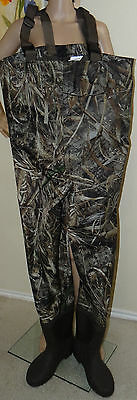 Game Winner Men's Realtree Max-5 camouflage PVC Boot Foot Wader, men's size 11,8