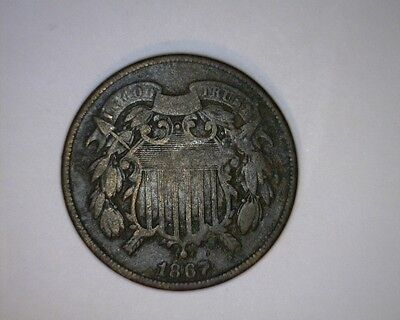 1867 Two Cent ( # 22-75 )