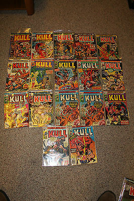 lot of 31 marvel comic books  Kull the conqueror 4 6 11 13 more