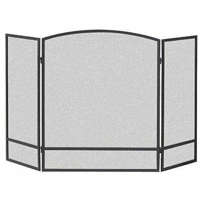 NEW Panacea Products 15951 3 Panel Arch Screen with Double Bar for Fireplace