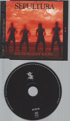 Cd--Sepultura -- --- Roots Bloody Roots