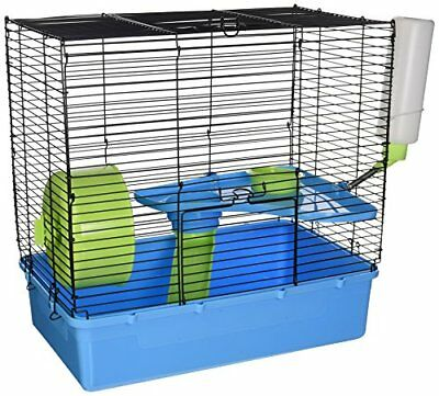 NEW Ware Manufacturing Plastic Home Sweet Single Pack Hamster Cage 2 Story