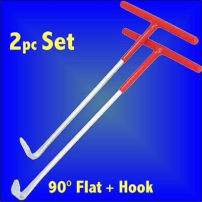 Exhaust Rubber Mount Ring Removal & Fitting Set Hook Car Garage Mechanics Fitter