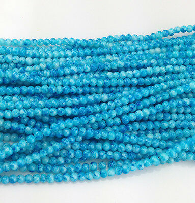 DIY Charm 50pcs 6mm Ball crystal Beads for Fit Bracelets Necklaces color NEW 32