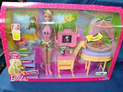 2009 Barbie I can be a Zoo Doctor new