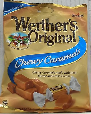 Storck Werther's Original Chewy Caramels Werthers 5 oz