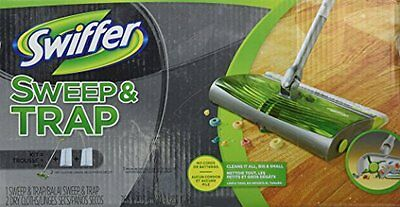 NEW Swiffer Sweep & Trap In The Box Starter Kit 1.000 FREE SHIPPING